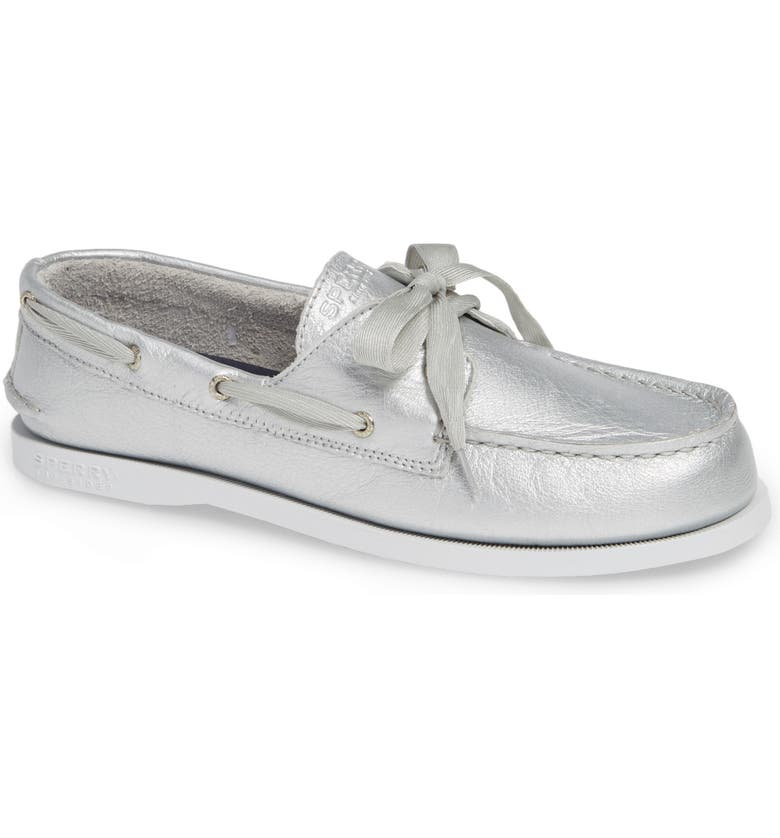SPERRY Kids 'Authentic Original' Boat Shoe, Main, color, 041