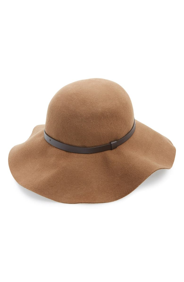 AMICI ACCESSORIES AmiciFloppy WoolHat, Main, color, CAMEL