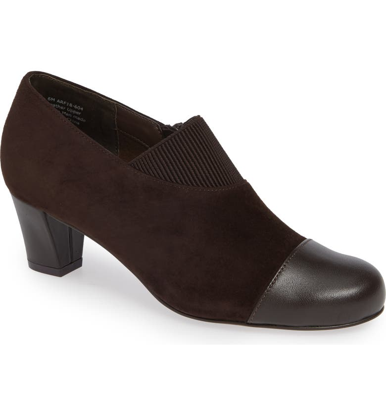 DAVID TATE Hope Bootie - Multiple Widths Available, Main, color, BROWN SUEDE