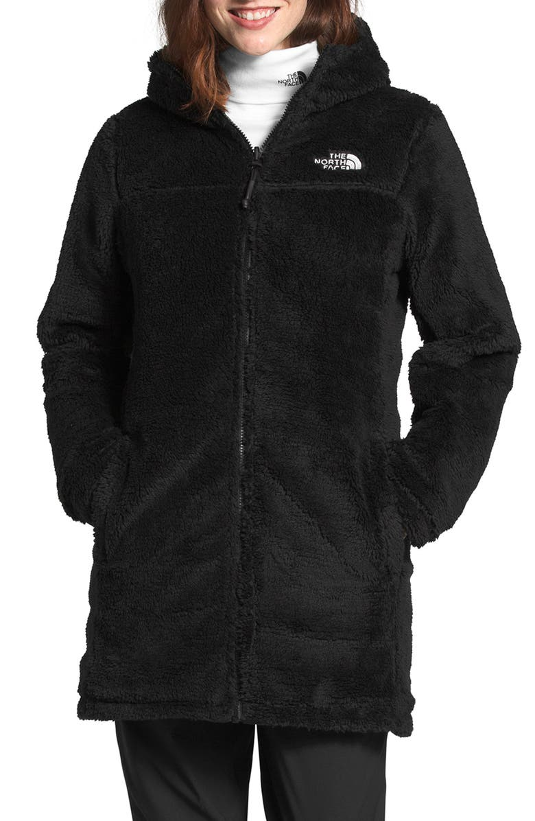 THE NORTH FACE Mossbud Water Repellent Reversible Heatseeker<sup>™</sup> Parka, Main, color, 002