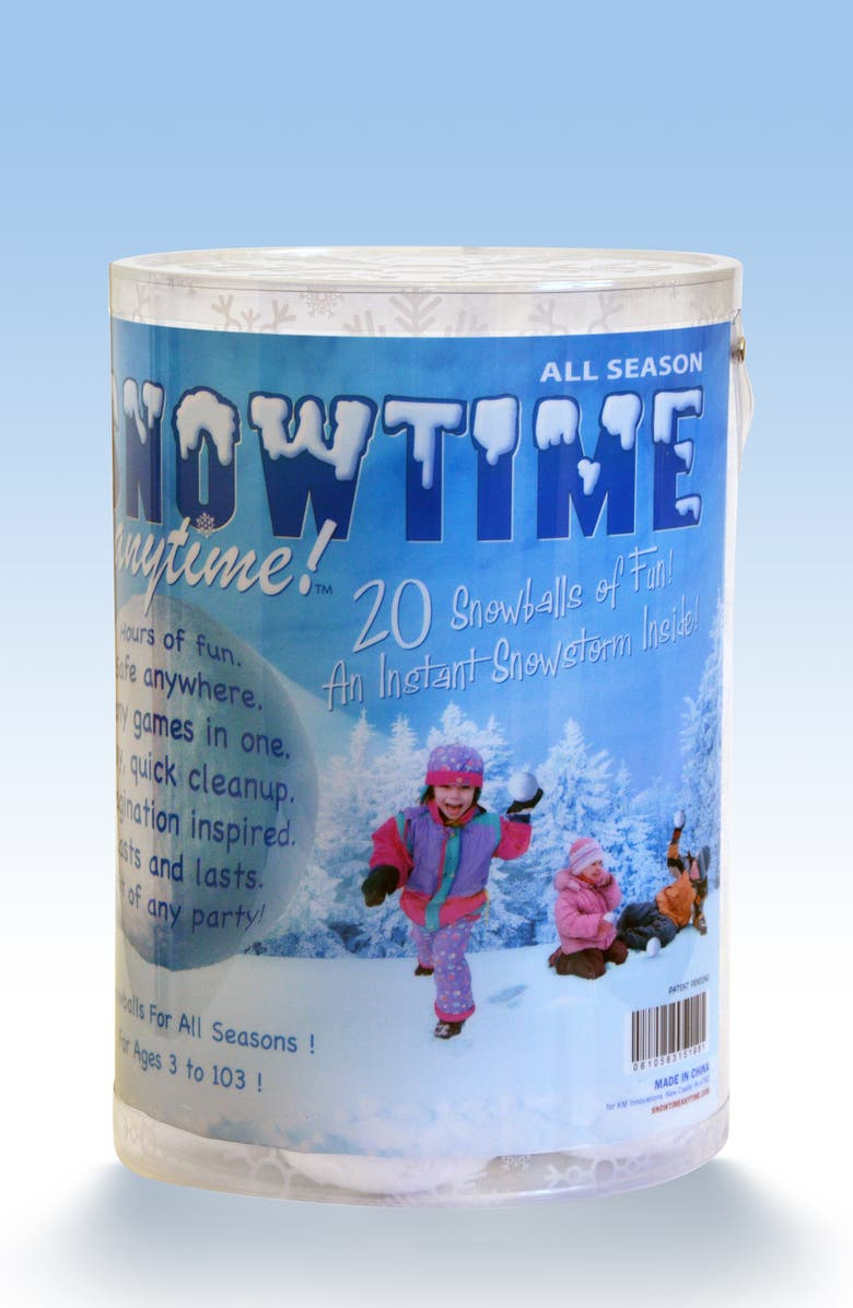 INDOOR SNOWBALL FIGHT Snowtime Anytime 20-Pack Snowballs, Main, color, 100