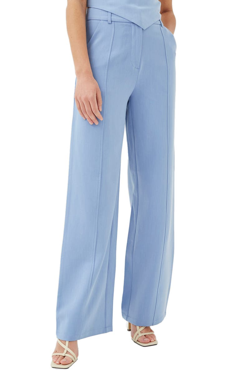 4TH & RECKLESS Adelaide High Waist Pants, Main, color, Blue