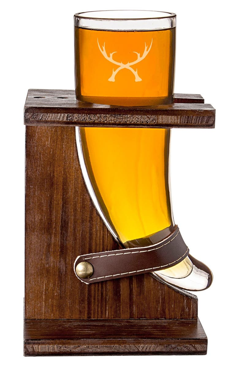 CATHY'S CONCEPTS 'Antlers' Viking Beer Stand, Main, color, 200