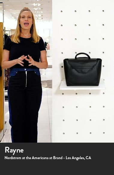 Convertible Faux Leather Diaper Tote, sales video thumbnail