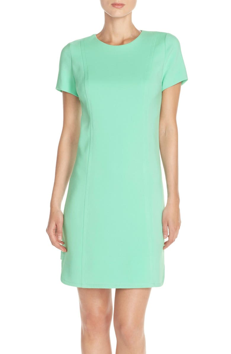 VINCE CAMUTO Seamed Shift Dress, Main, color, 338