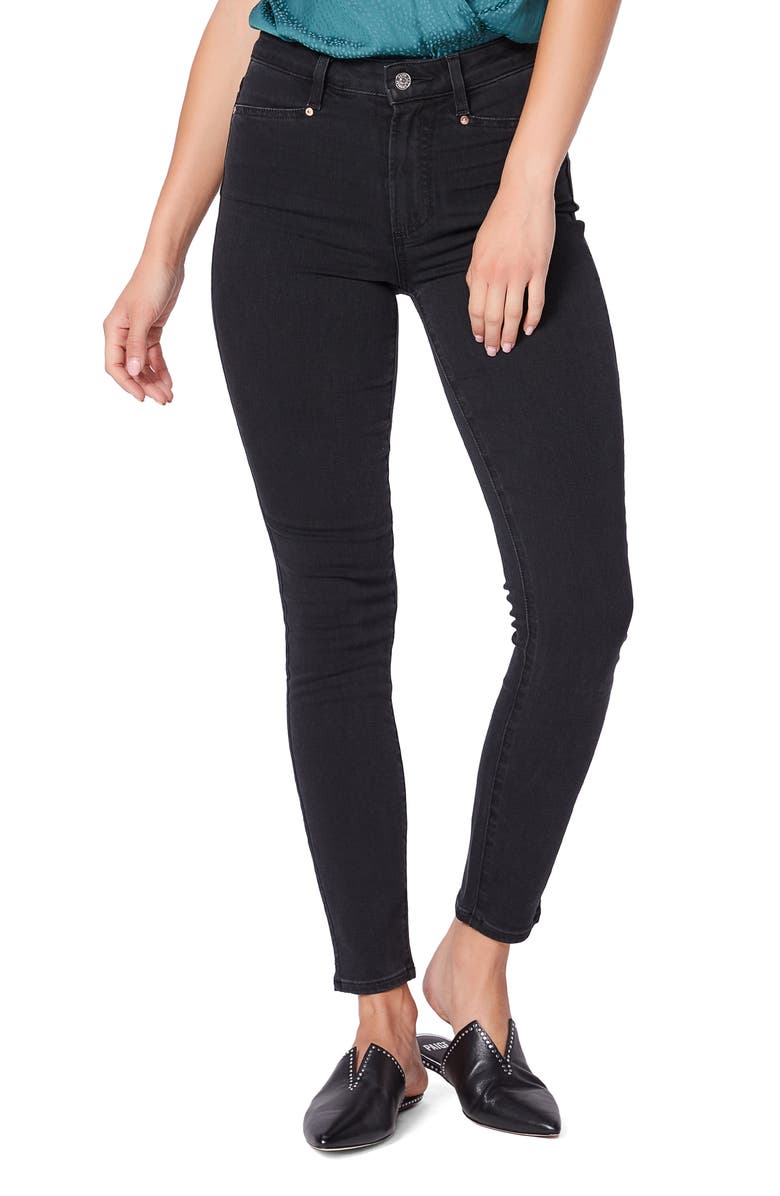 PAIGE Margot Ankle Skinny Jeans, Main, color, MYSTIC NIGHT