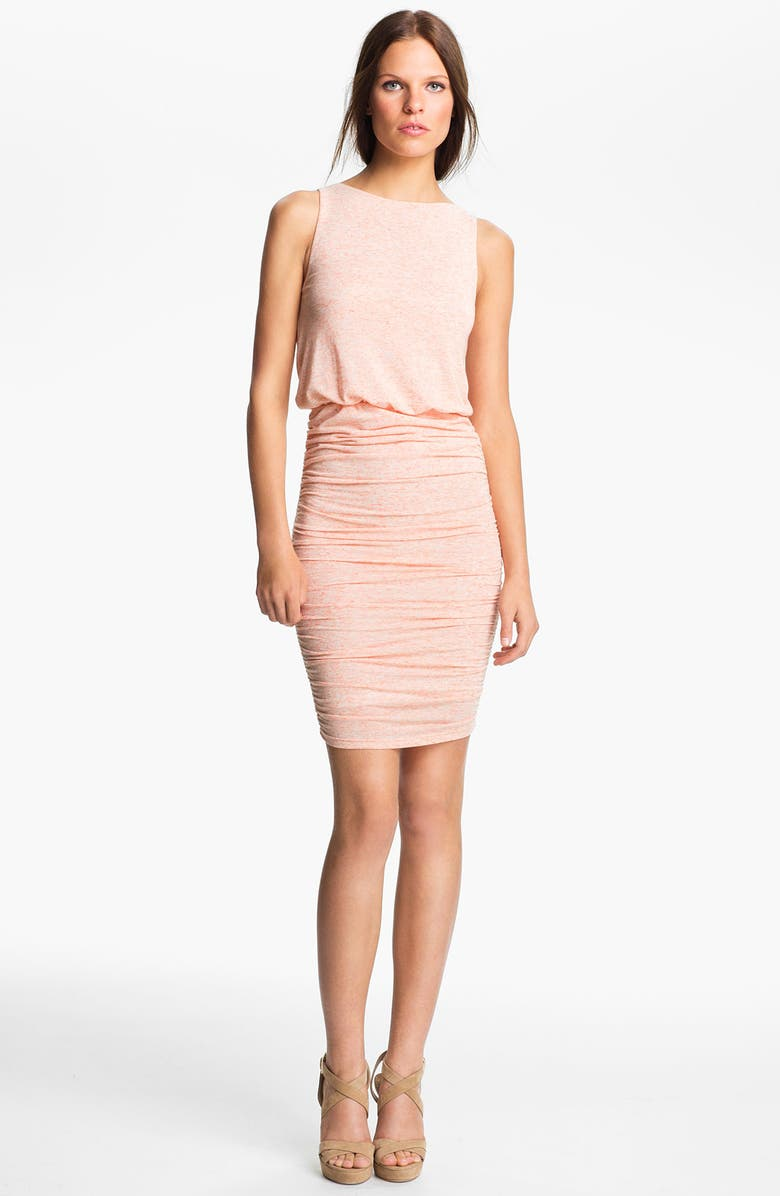 ALICE + OLIVIA Ruched Dress, Main, color, 805