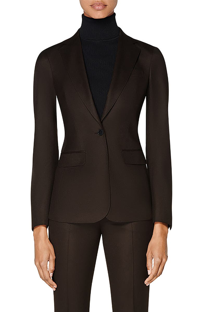 SUISTUDIO Cameron Wool Suit Jacket, Main, color, 200
