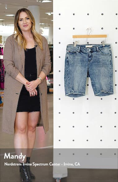 Cutoff Bermuda Shorts, sales video thumbnail