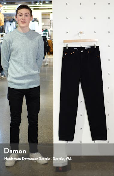 The Phoebe High Waist Ankle Straight Leg Jeans, sales video thumbnail