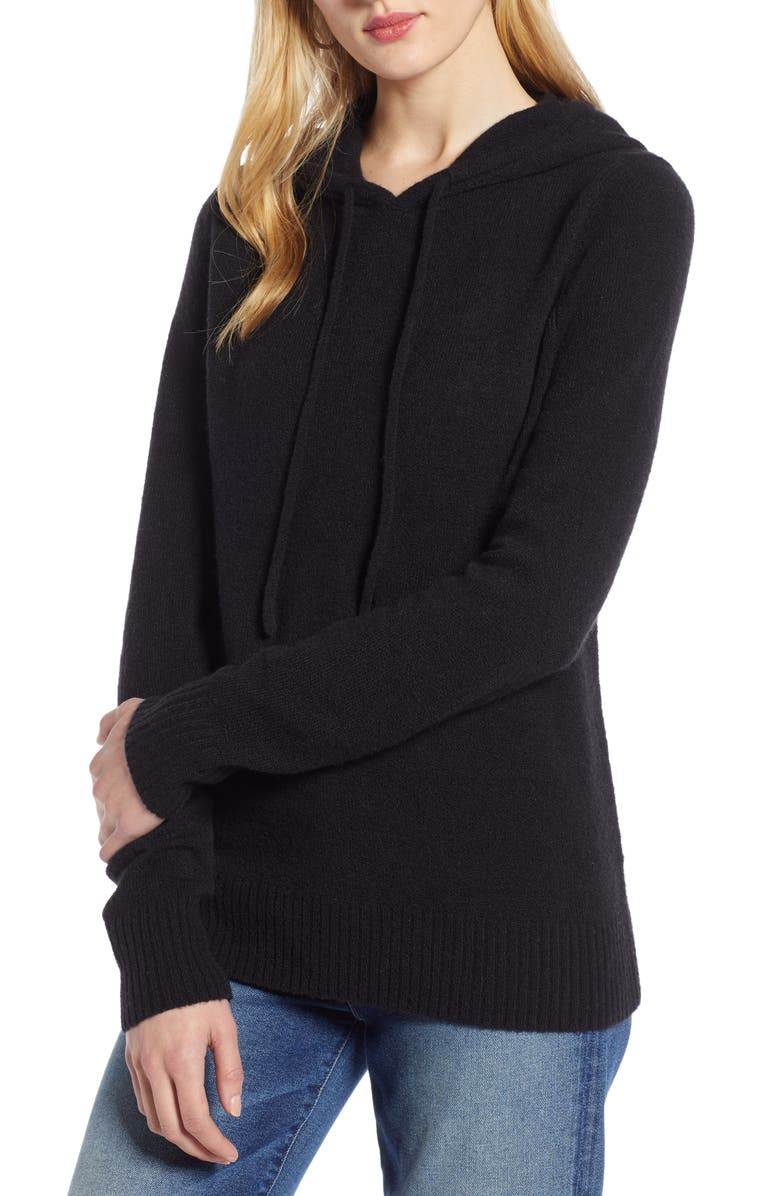 HALOGEN<SUP>®</SUP> Hoodie Sweater, Main, color, 001