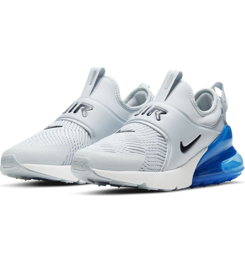 NIKE Air Max Extreme Sneaker, Main, color, PLATINUM/ BLUE VOID/ BLUE