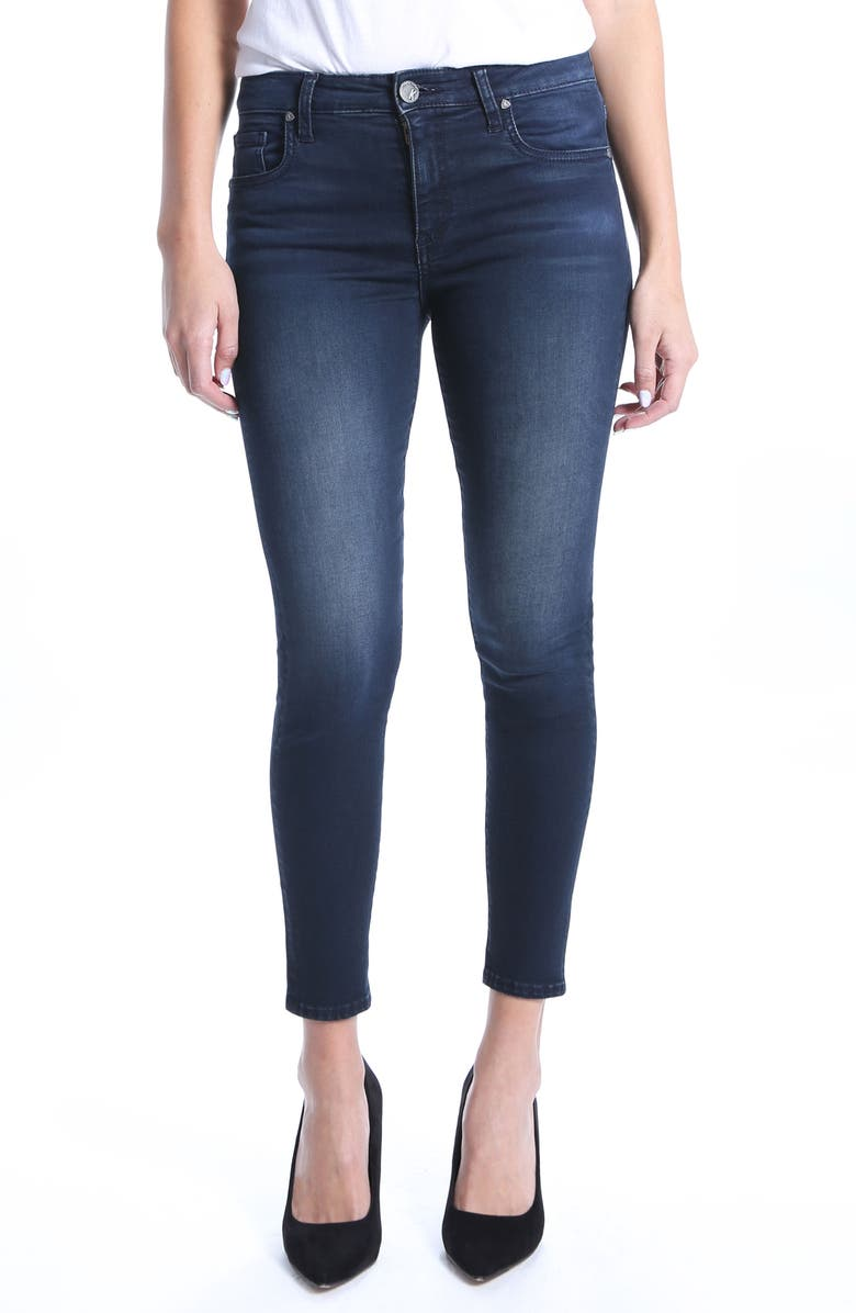 KUT FROM THE KLOTH Donna High Rise Ankle Skinny Jeans, Main, color, RECOGNIZABLE