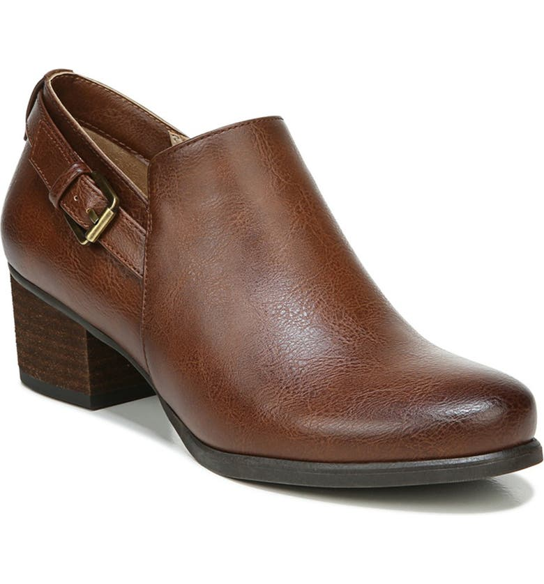 SOUL NATURALIZER Campus Bootie - Wide Width Available, Main, color, WHISKEY