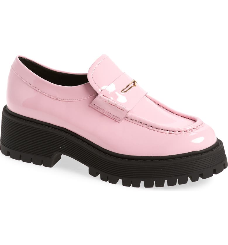STEVE MADDEN Malvern Loafer, Main, color, PINK PATENT