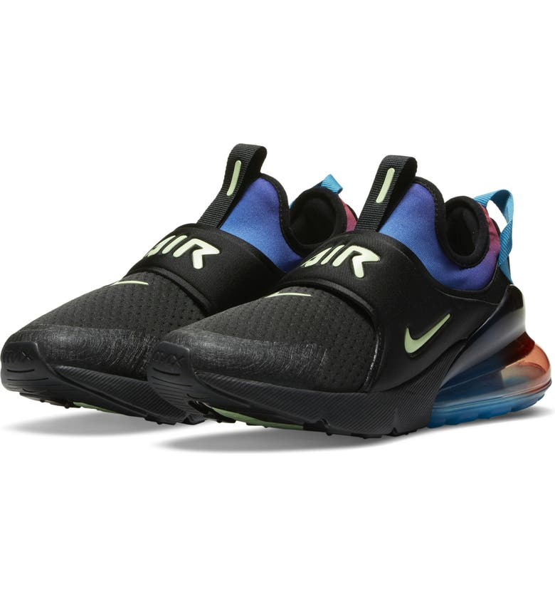 NIKE Air Max Extreme SE Sneaker, Main, color, BLACK/ GREEN/ RED/ ORCHID