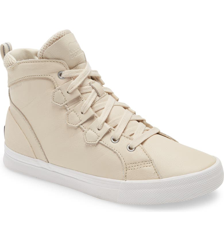SOREL Caribou Waterproof Sneaker, Main, color, NATURAL