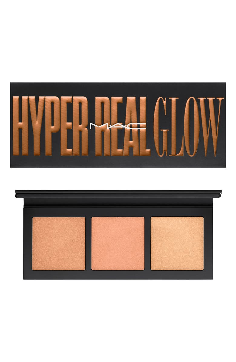 MAC COSMETICS MAC Hyper Real Glow Palette, Main, color, SHIMMY PEACH