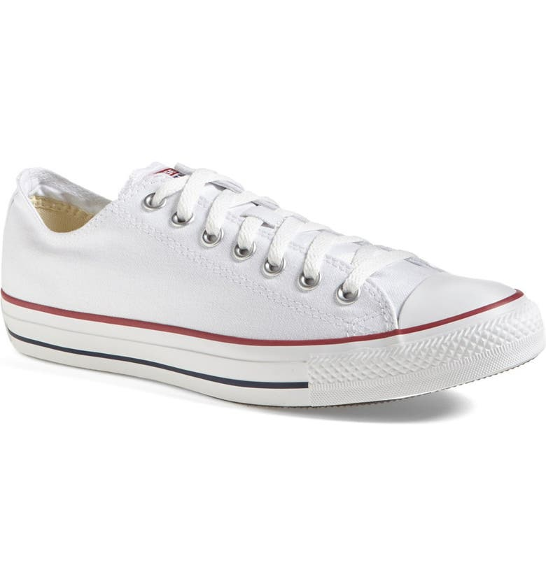 CONVERSE Chuck Taylor<sup>®</sup> All Star<sup>®</sup> Low Sneaker, Main, color, WHITE