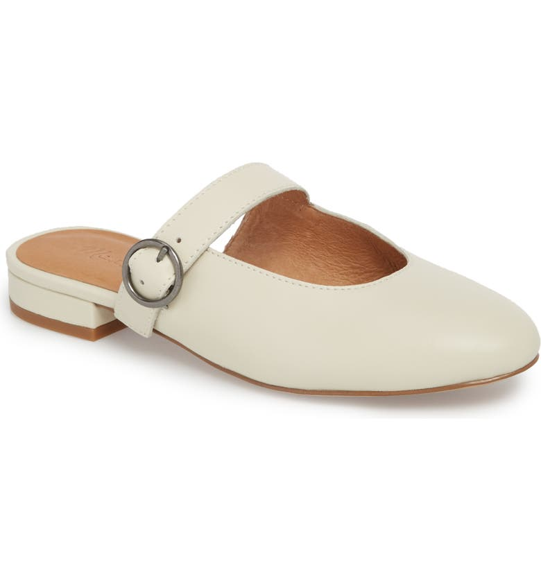 MADEWELL Kinley Mary Jane Mule, Main, color, VINTAGE CANVAS LEATHER
