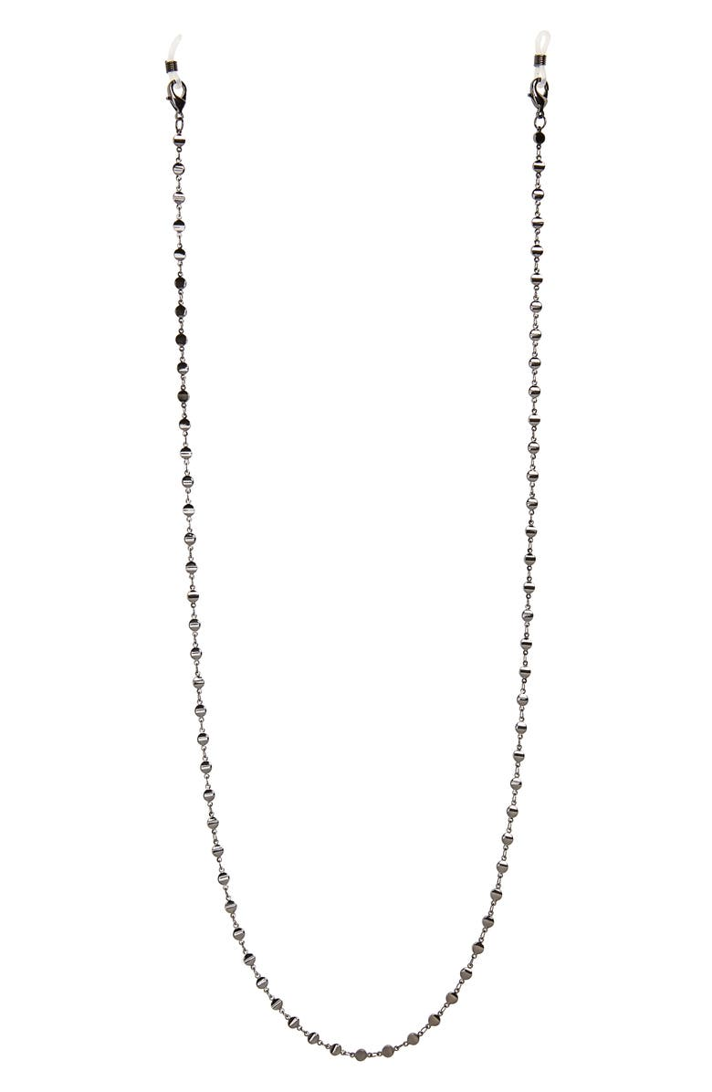 NORDSTROM Halogen<sup>®</sup> Metal Disc Adult Face Mask Chain, Main, color, 040