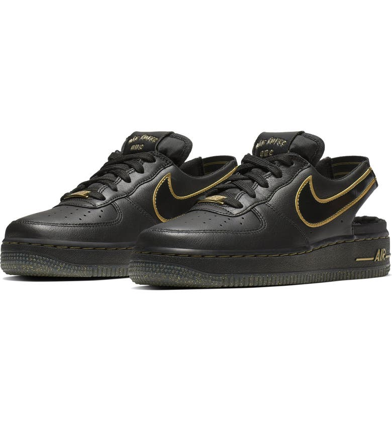 NIKE Air Force 1 VTF Slingback Sneaker, Main, color, 001