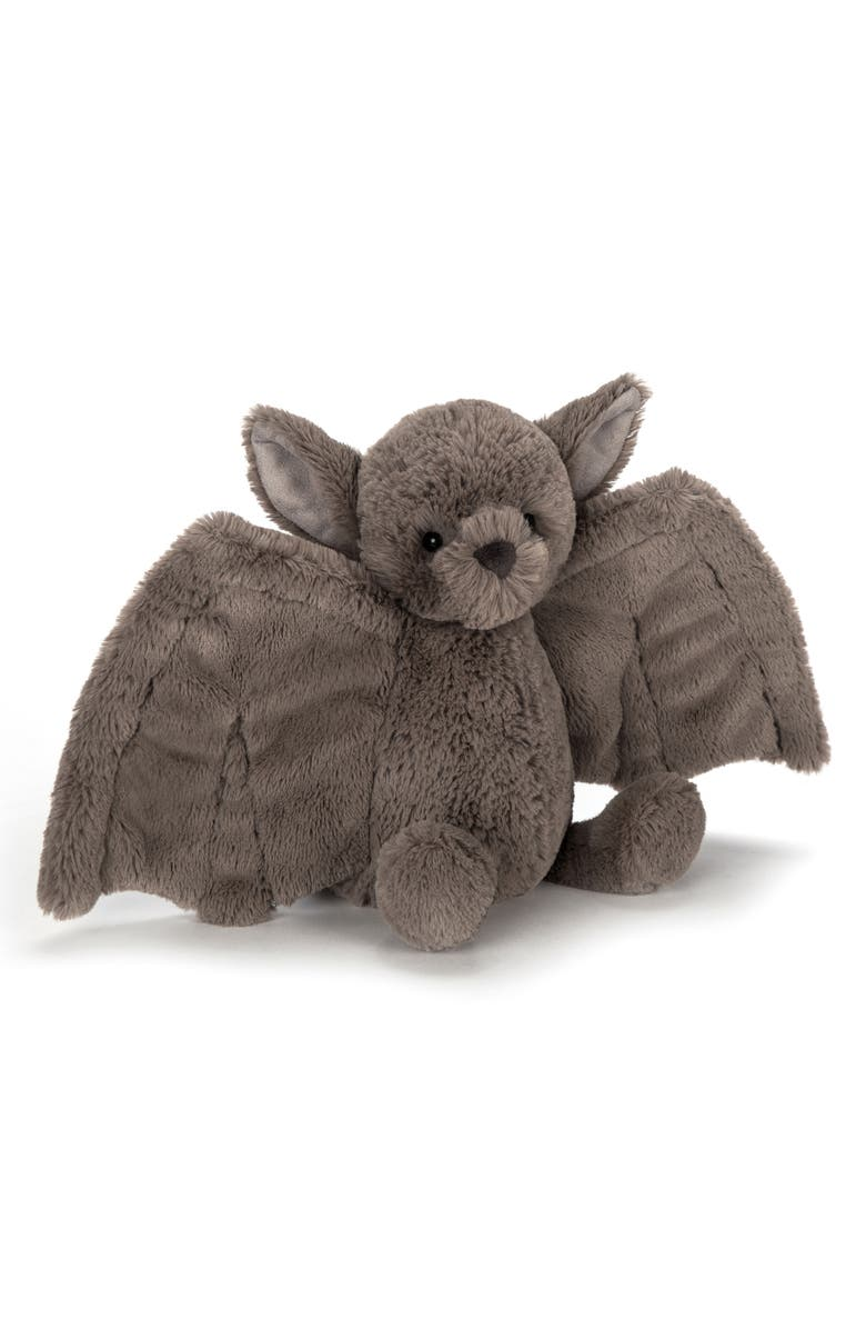 JELLYCAT Medium Bashful Bat Stuffed Animal, Main, color, 200