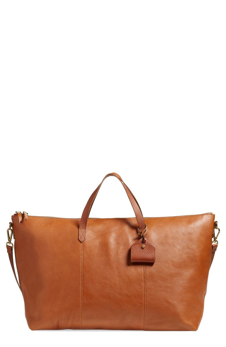 MADEWELL 'Transport' Weekend Bag, Main, color, 200