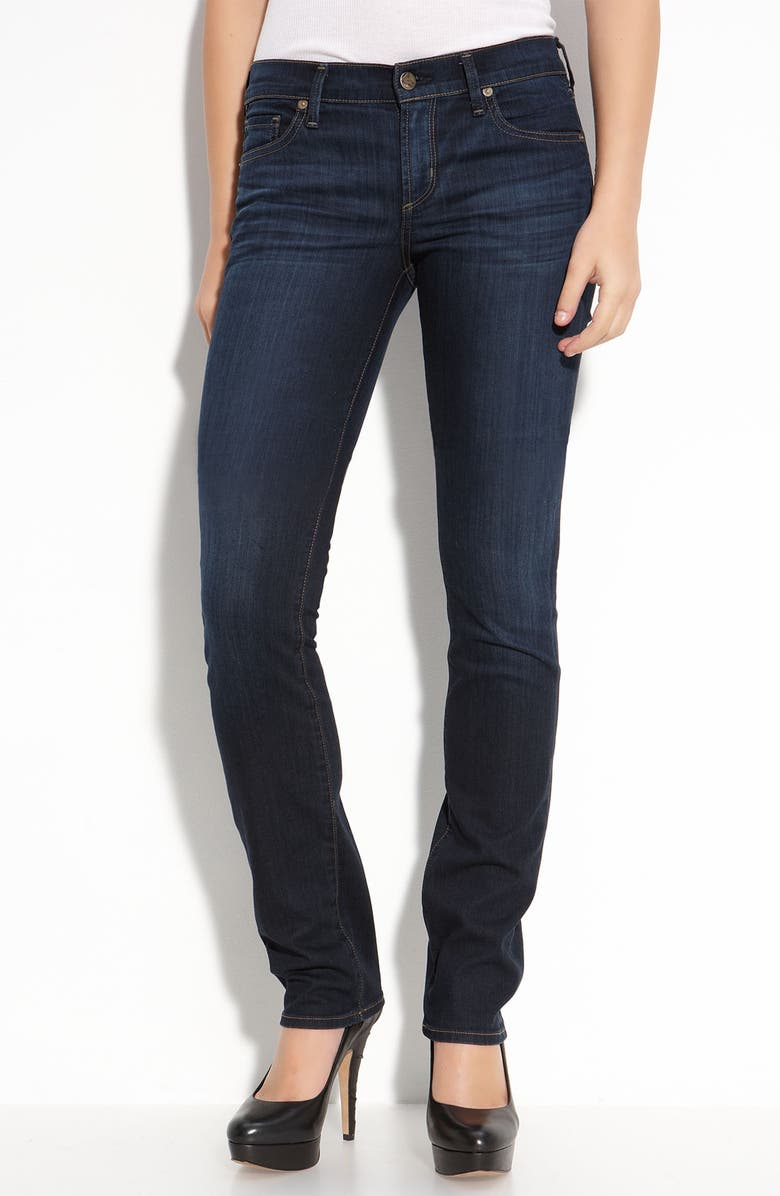 CITIZENS OF HUMANITY 'Ava' Straight Leg Stretch Jeans, Main, color, 407
