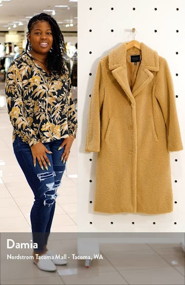 Teddy Bear Faux Shearling Coat, sales video thumbnail
