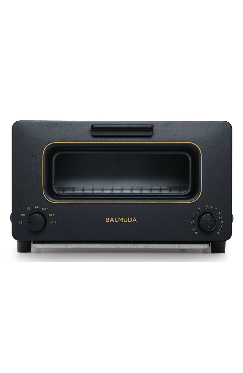 BALMUDA The Toaster Steam Toaster Oven, Main, color, BLACK