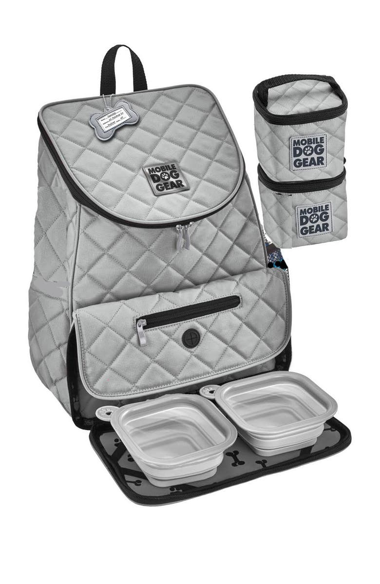 MOBILE DOG GEAR Weekend Backpack - Gray, Main, color, GRAY