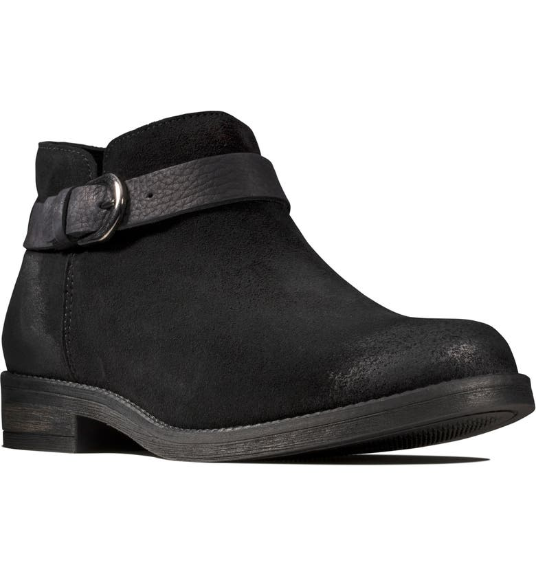 CLARKS<SUP>®</SUP> Demi Tone Bootie, Main, color, 007