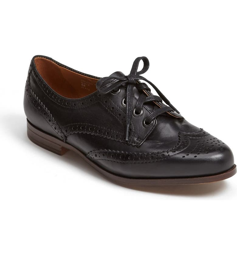 EARTHIES<SUP>®</SUP> 'Treviso' Oxford Loafer, Main, color, 001