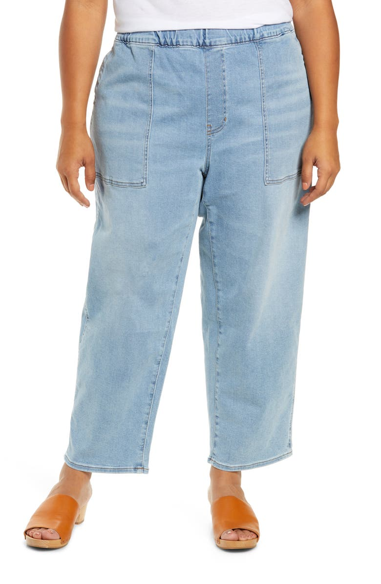 MADEWELL Pull-On Relaxed Jeans, Main, color, BELLVIEW