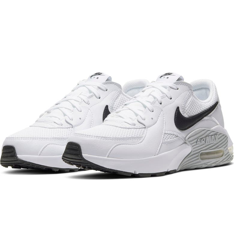 NIKE Air Max Excee Sneaker, Main, color, WHITE/ BLACK