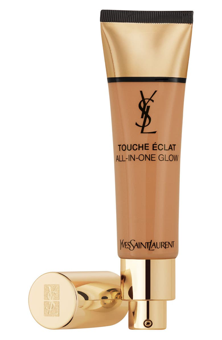 YVES SAINT LAURENT Touche Éclat All-In-One Glow Liquid Foundation Broad Spectrum SPF 23, Main, color, B70 MOCHA