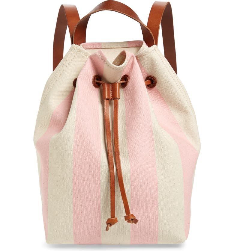 MADEWELL Somerset Canvas Backpack, Main, color, 650