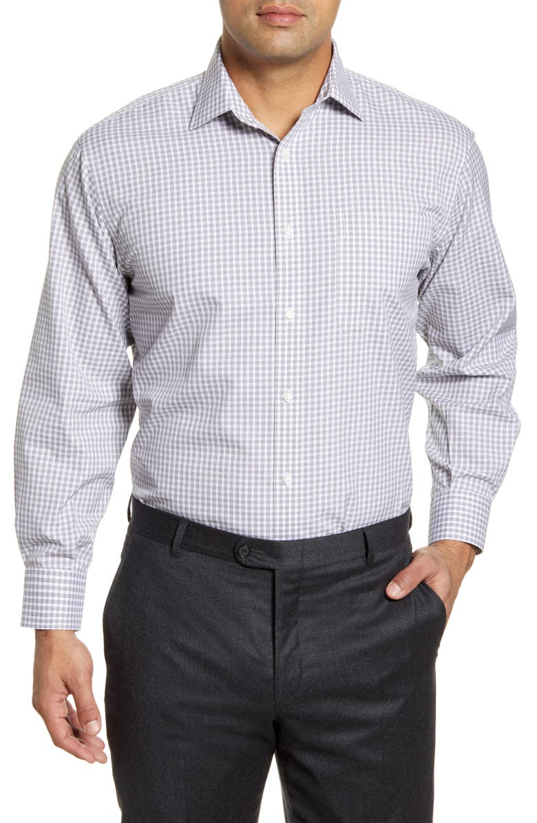 NORDSTROM MEN'S SHOP Smartcare<sup>™</sup> Classic Fit Check Dress Shirt, Main, color, 020