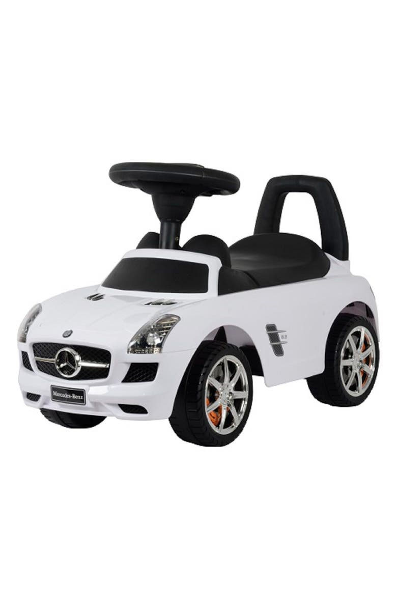 BEST RIDE ON CARS Mercedes Push Car, Main, color, 100