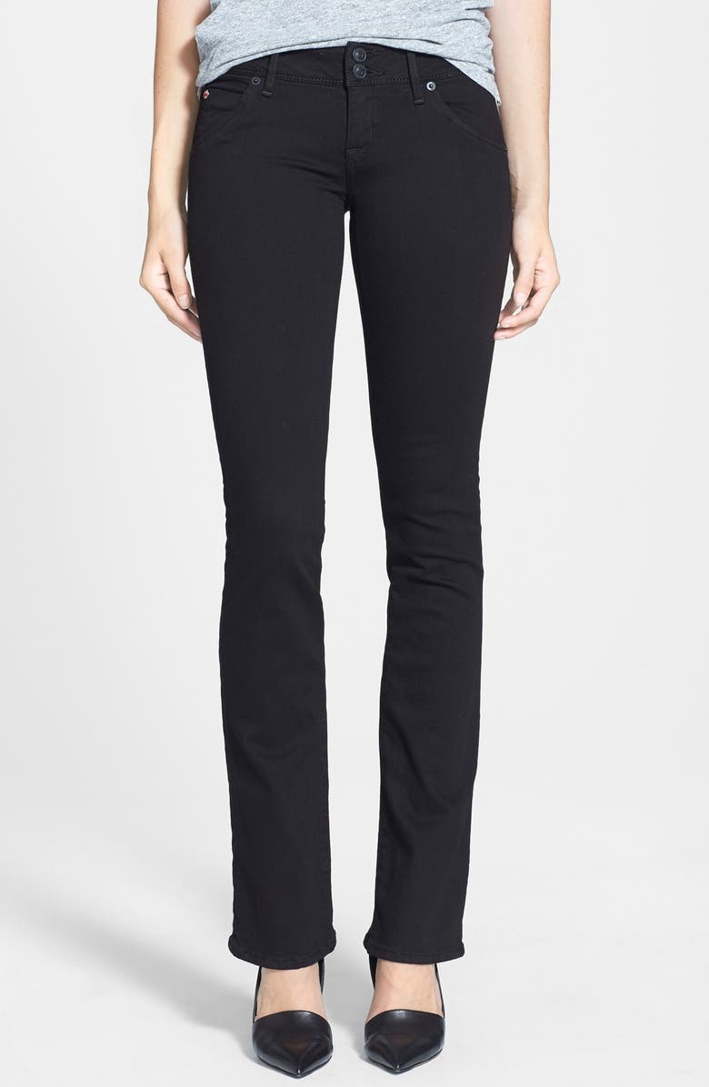 HUDSON JEANS High Waist Skinny Jeans, Main, color, 001