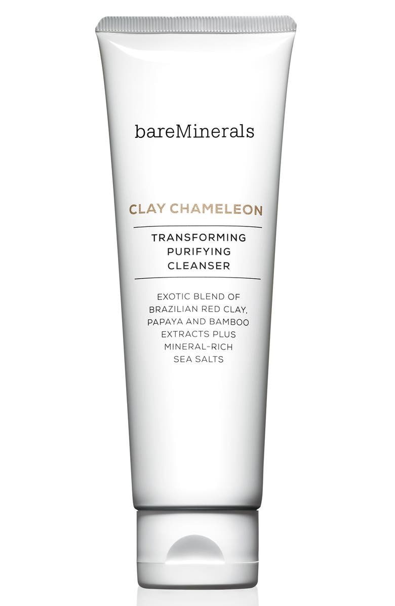 BAREMINERALS<SUP>®</SUP> Clay Chameleon Transforming Purifying Cleanser, Main, color, 000
