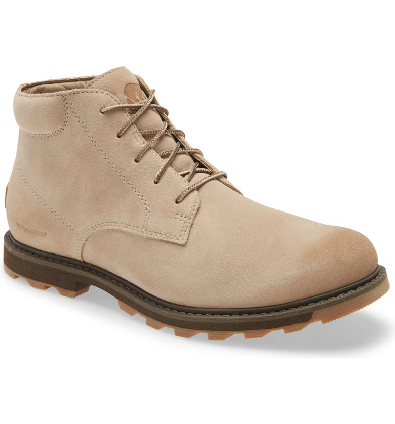 SOREL Madson II Waterproof Chukka Boot, Main, color, TAN