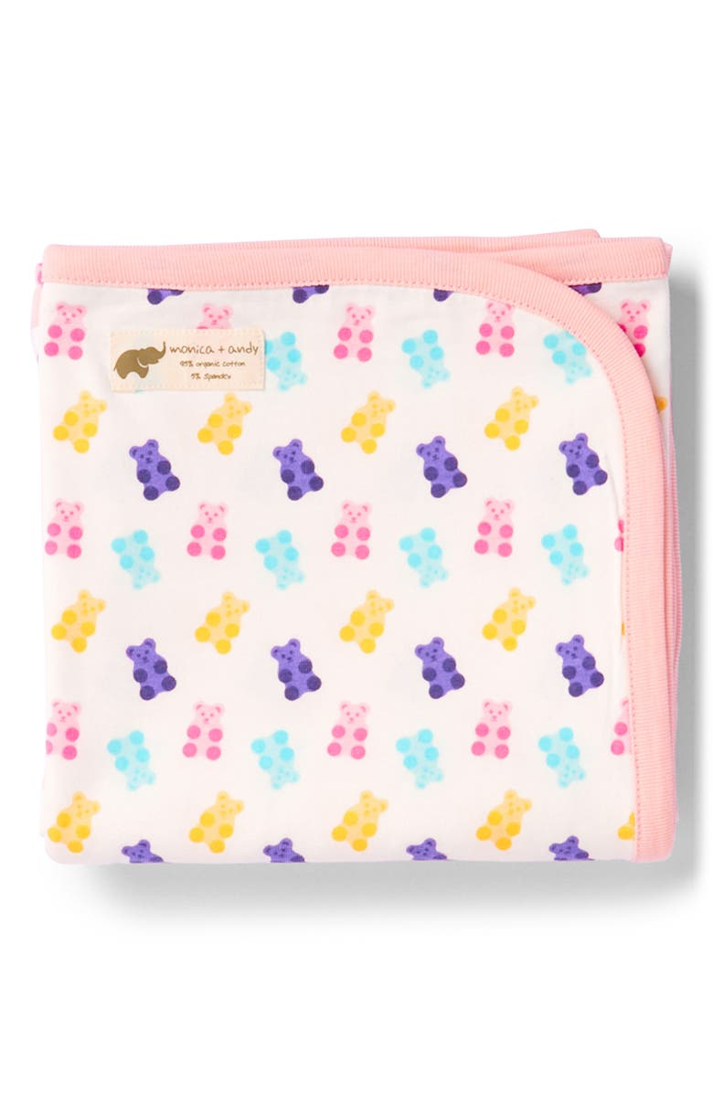 MONICA + ANDY Gummy Bears Coming Home Blanket, Main, color, 100
