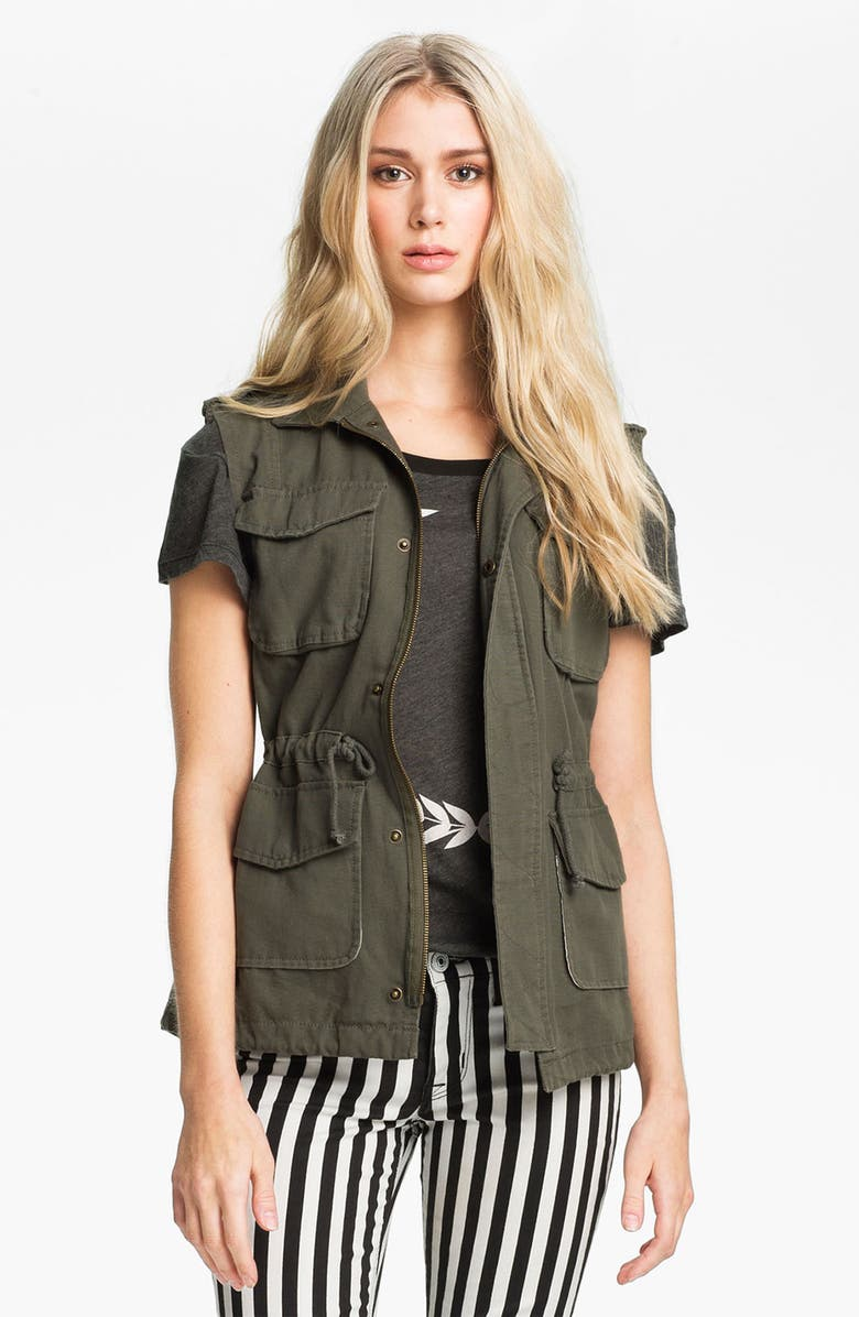SANCTUARY Surplus Vest, Main, color, 341