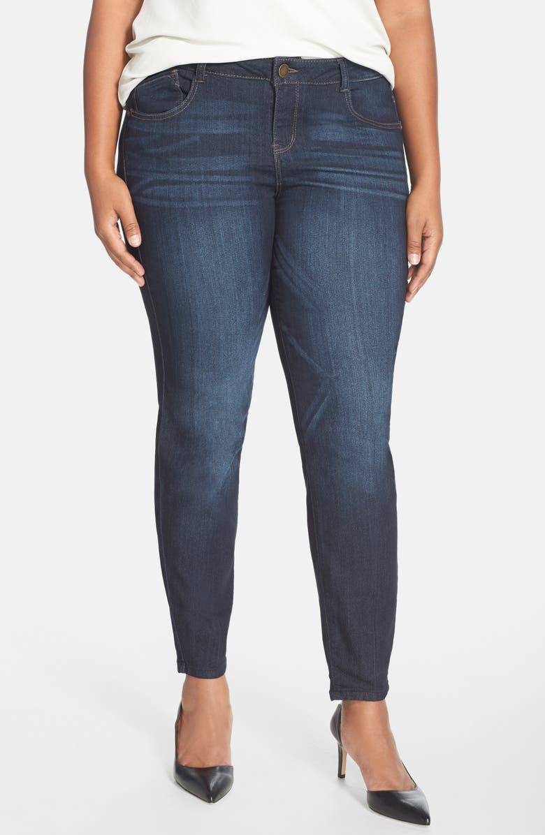 WIT & WISDOM 'Super Smooth' Stretch Skinny Jeans, Main, color, 487
