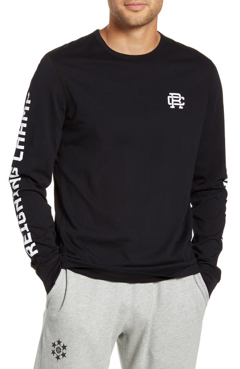 REIGNING CHAMP Football Club Long Sleeve T-Shirt, Main, color, 001