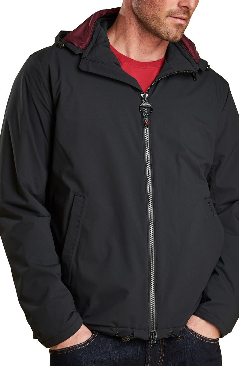 BARBOUR Whitburn Waterproof Jacket, Main, color, 001
