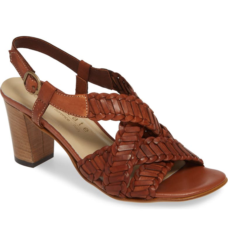 DAVID TATE Amarone Sandal, Main, color, COGNAC LEATHER
