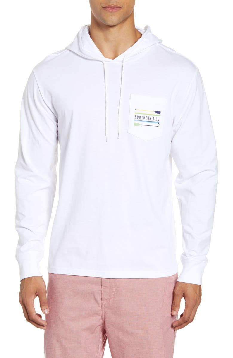 SOUTHERN TIDE Southern Tied Paddles Pocket Hoodie, Main, color, 107
